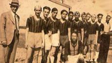 Estreia de camisas da Associação Atlética Anhanguera, anos 1930.