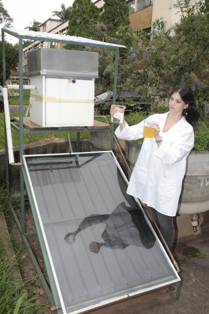 Esalq cria destilador de água de baixo impacto ambiental. O protótipo é capaz de destilar até 3,3 litros de água ao dia e atende à demanda na área de Química da Esalq