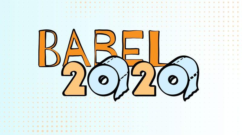 """Sejam bem-vindos à edição """"Ano 2020"""" da revista Babel"""