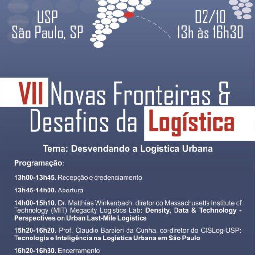 VII Novas Fronteiras & Desafios da Logística