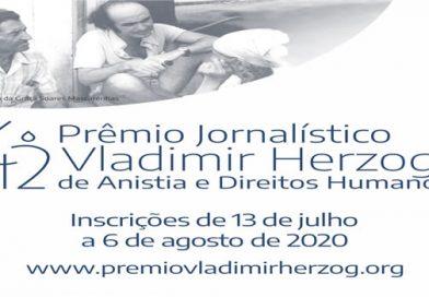 Prêmio Jornalístico Vladimir Herzog  de Anistia e Direitos Humanos abre inscrições para a sua 42ª edição