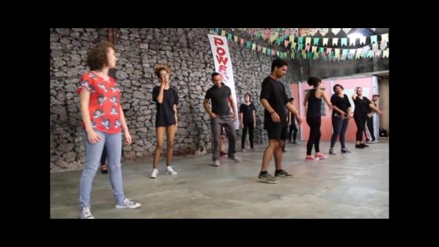 Videorreportagem Tempo, ritmo e dança