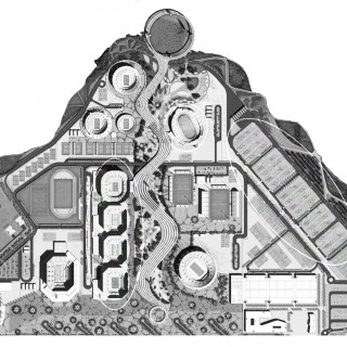 planta do Centro Olímpico