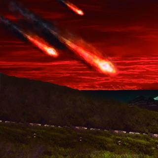 meteoro cortada