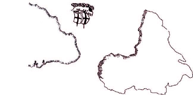 Ilustrações Mapas Pág 8 e 9