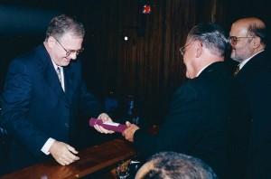 Solenidade de admissão de Zago na Academia Brasileira de Ciências, 2000