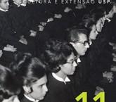 Capa da 11ª edição da Revista Cultura e Extensão USP em seu novo formato gráfico