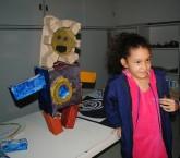 As crianças participantes do projeto têm um espaço para aprender novas formas de expressar sua criatividade. Foto: divulgação