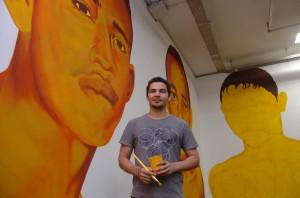Éder Oliveira, artista de Belém (PA), que estará presente na 31ª Bienal de São Paulo