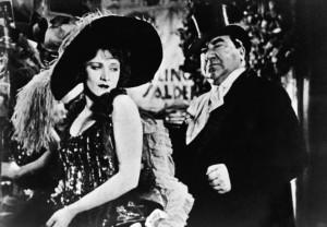 Marlene em cena de O Anjo Azul, filme que inaugurou a parceria com o diretor austríaco Josef Von Sternberg