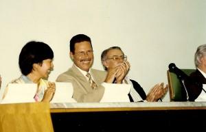 Palermo durante a Semana Científica do Departamento de Patologia da FMVZ em 1999