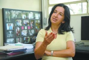 Maria Elisa Pimentel Piemonte é professora do Fofito e coordena os estudos sobre uso de jogos virtuais na reabilitação física