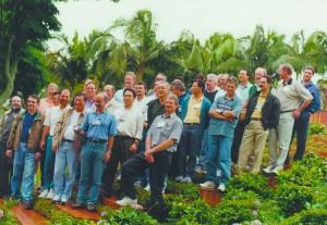 Encontro anual de colegas da turma de 1975 da Poli, em novembro de 2013