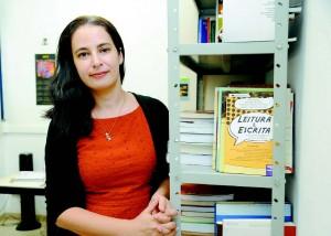 Professora Fraulein Vidigal de Paula, que faz parte da equipe do Laboratório de Estudos sobre o Desenvolvimento e a Aprendizagem (Leda), no IP