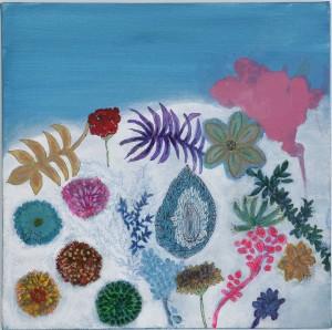 """A mostra """"Ontem"""" pode ser visitada na Galeria Paralelo até o dia 4 de abril. O quadro Céu Seu está entre as obras expostas"""
