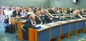 Encontro que reuniu dirigentes para discussão do&lt;br /&gt;&lt;br /&gt;&lt;br /&gt;<br /> plano de metas da niversidade para o ano de 2015