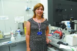 Maria Rita dos Santos e Passos Bueno, professora do IB e membro do Projeto Genoma