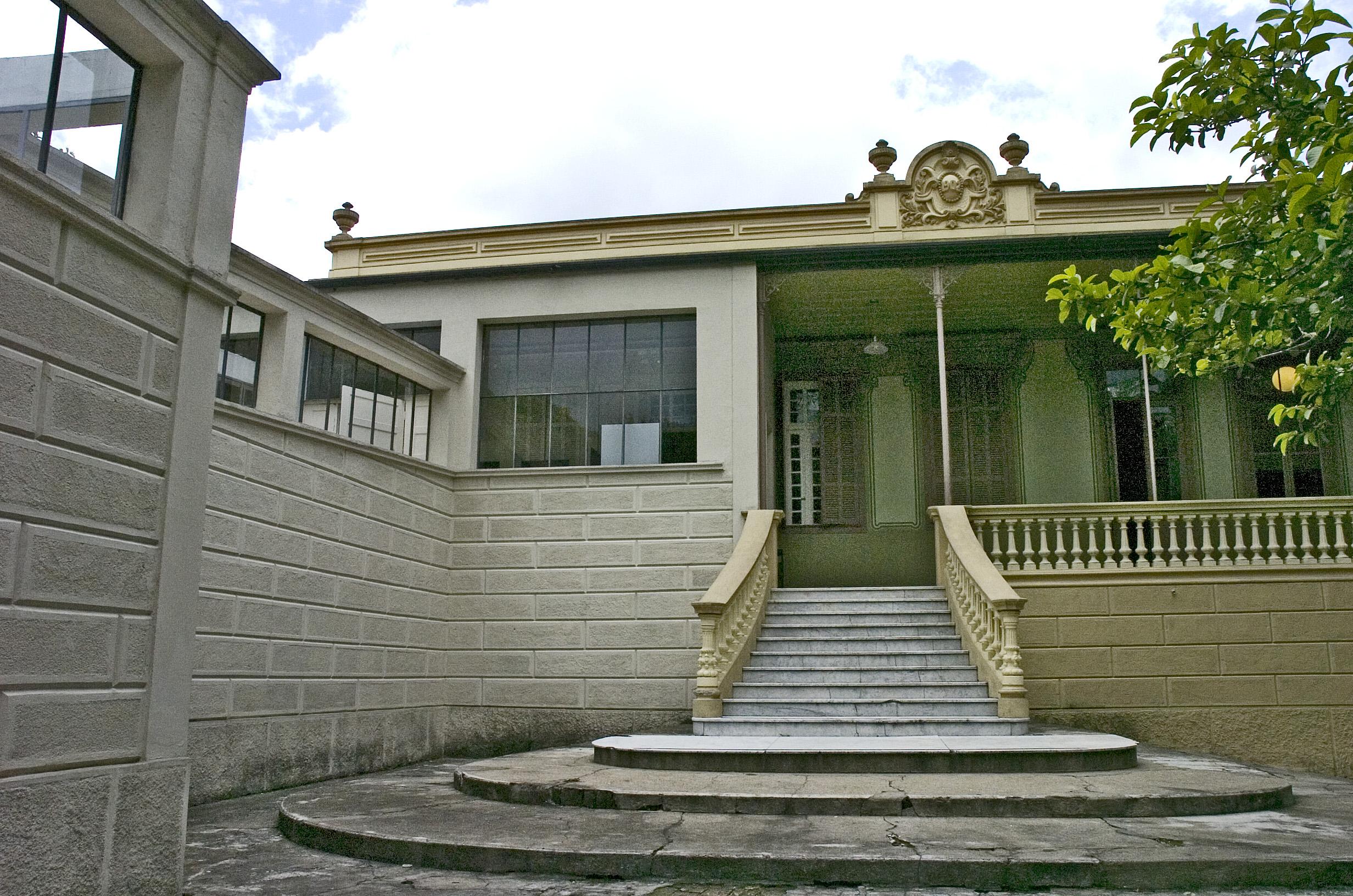 Casa da Dona Yayá_ pinturas murais Foto Cecilia Bastos  3