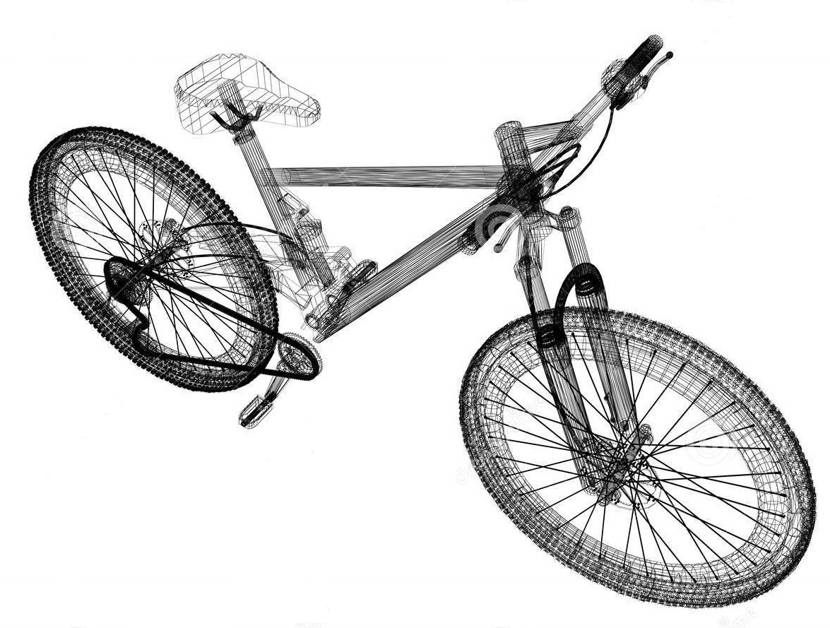 bicycle-wire-frame