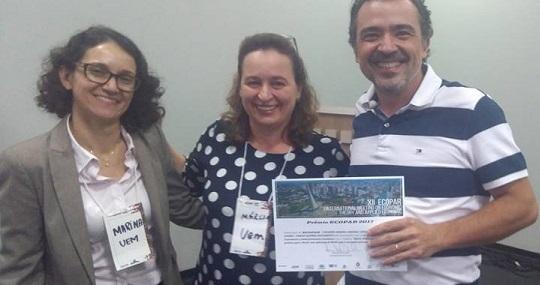 Doutorando do NEREUS recebe prêmio no Paraná
