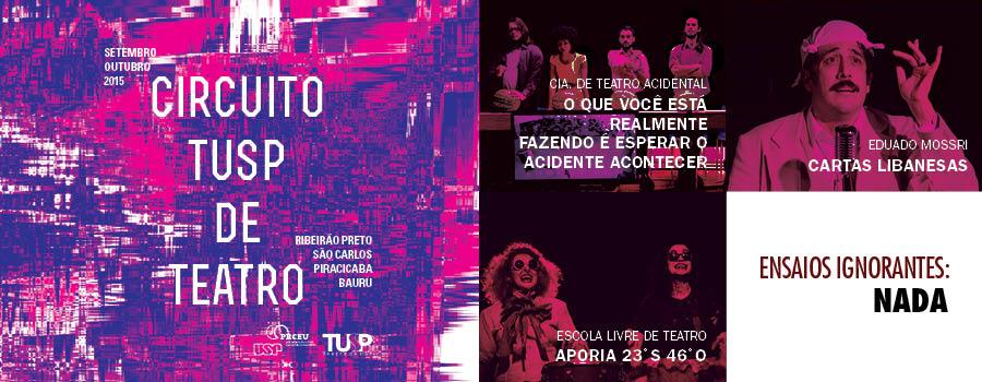 Circuito TUSP de Teatro 2015